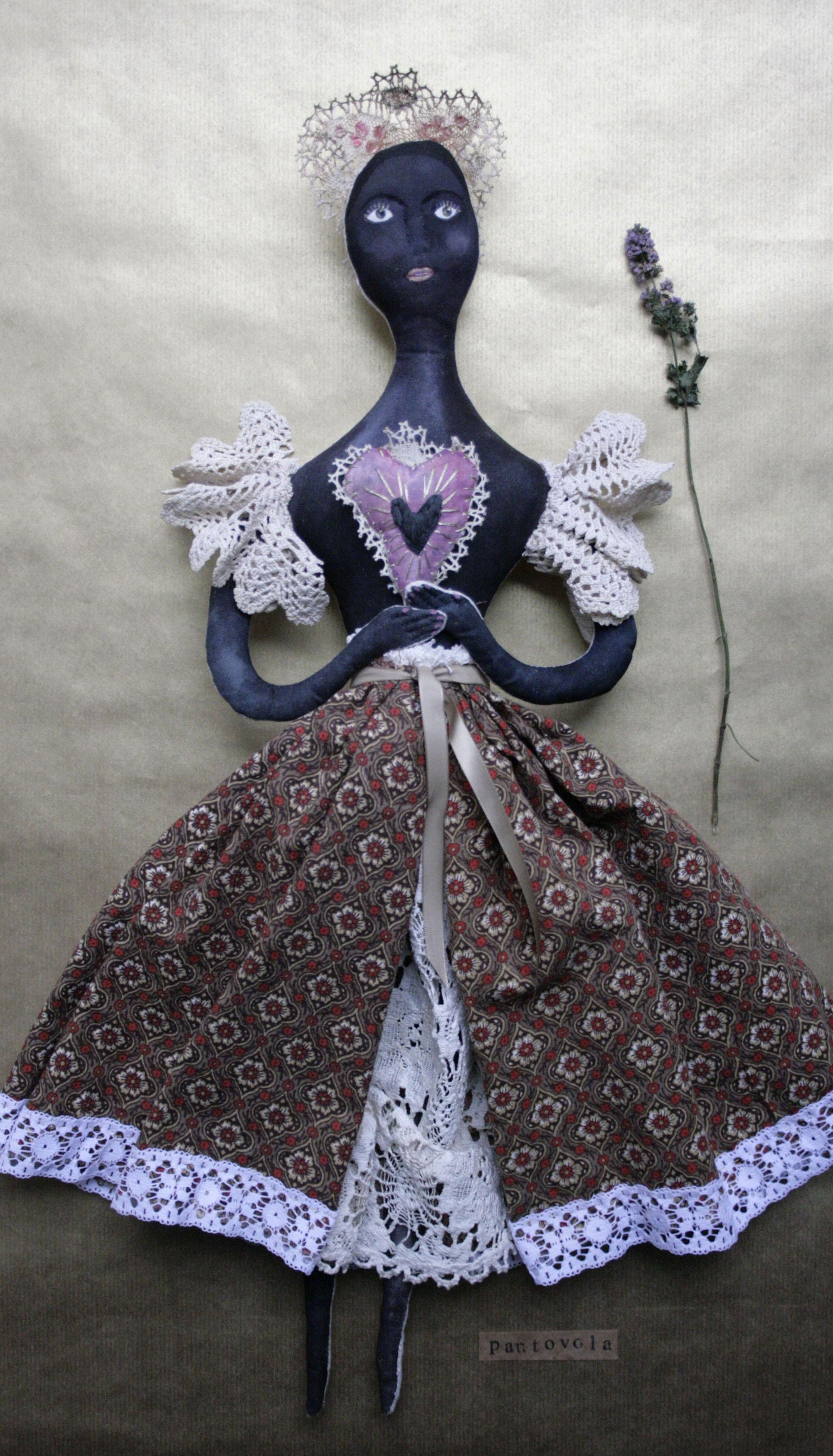 black madonna doll