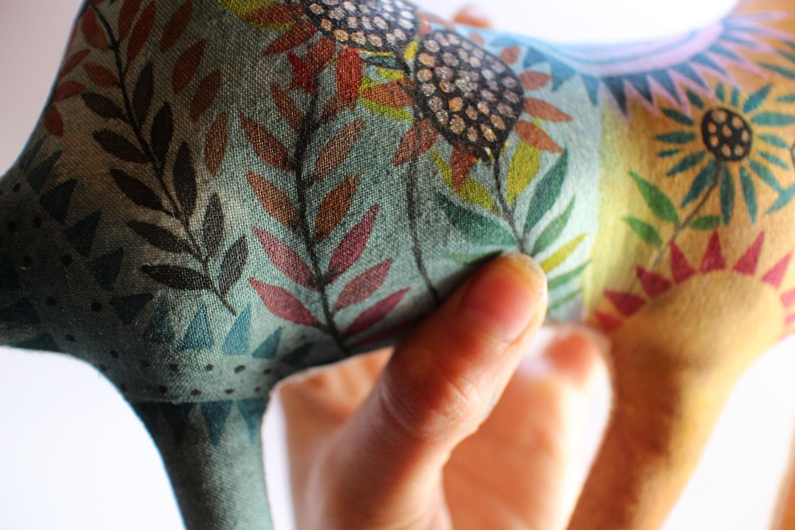Camille Circus Horse doll detail10