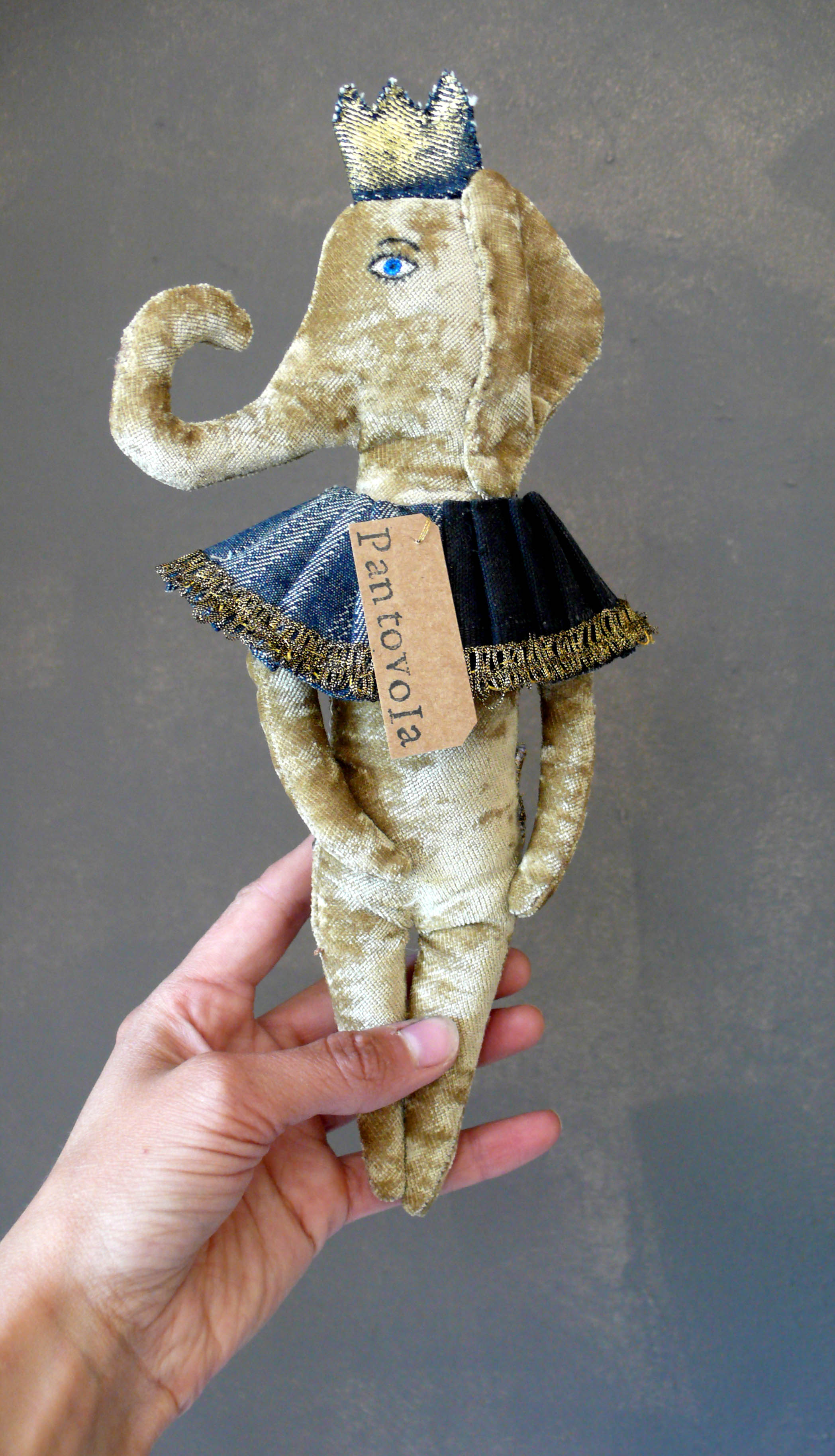 art doll elephant