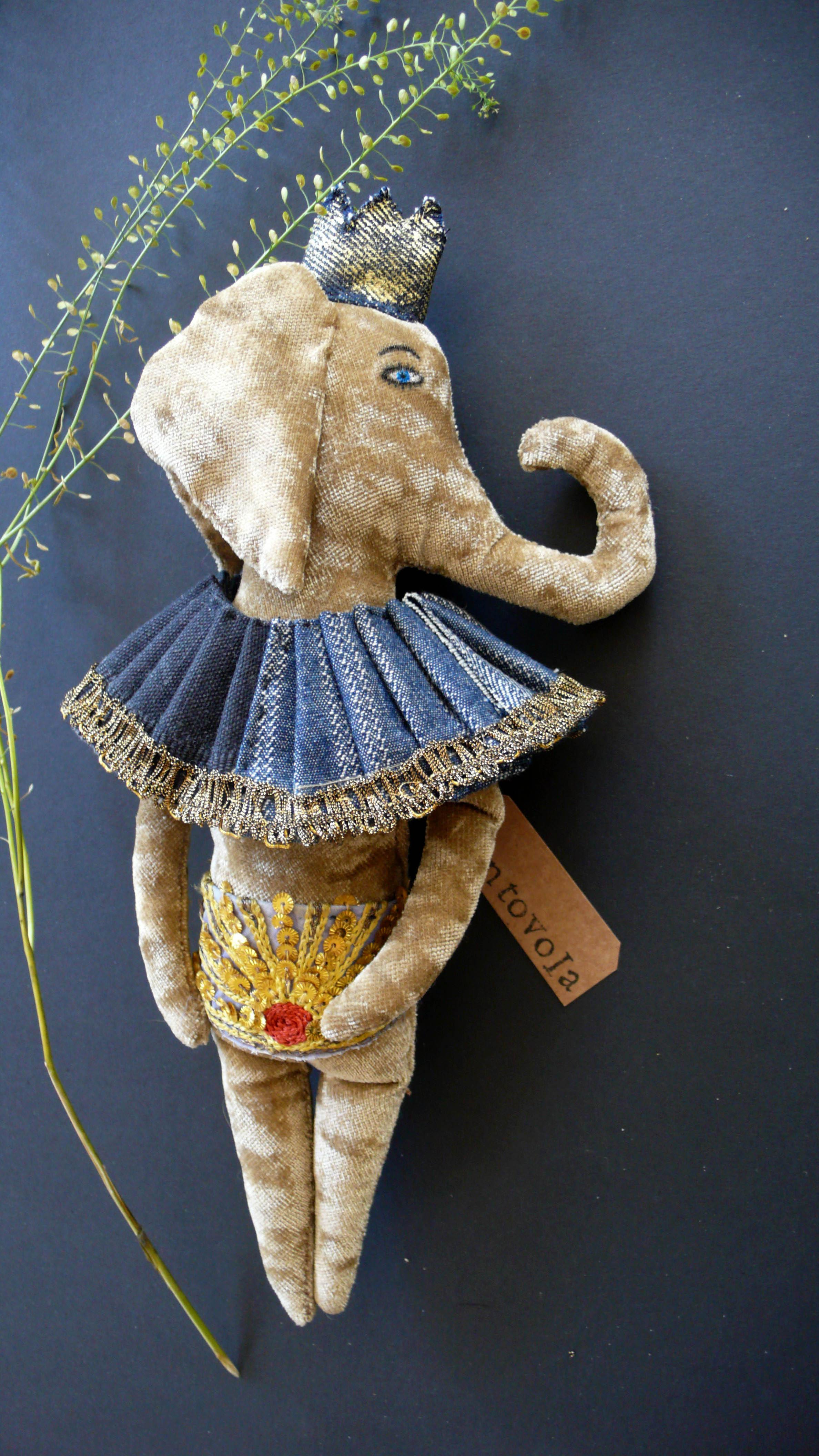 doll elephant