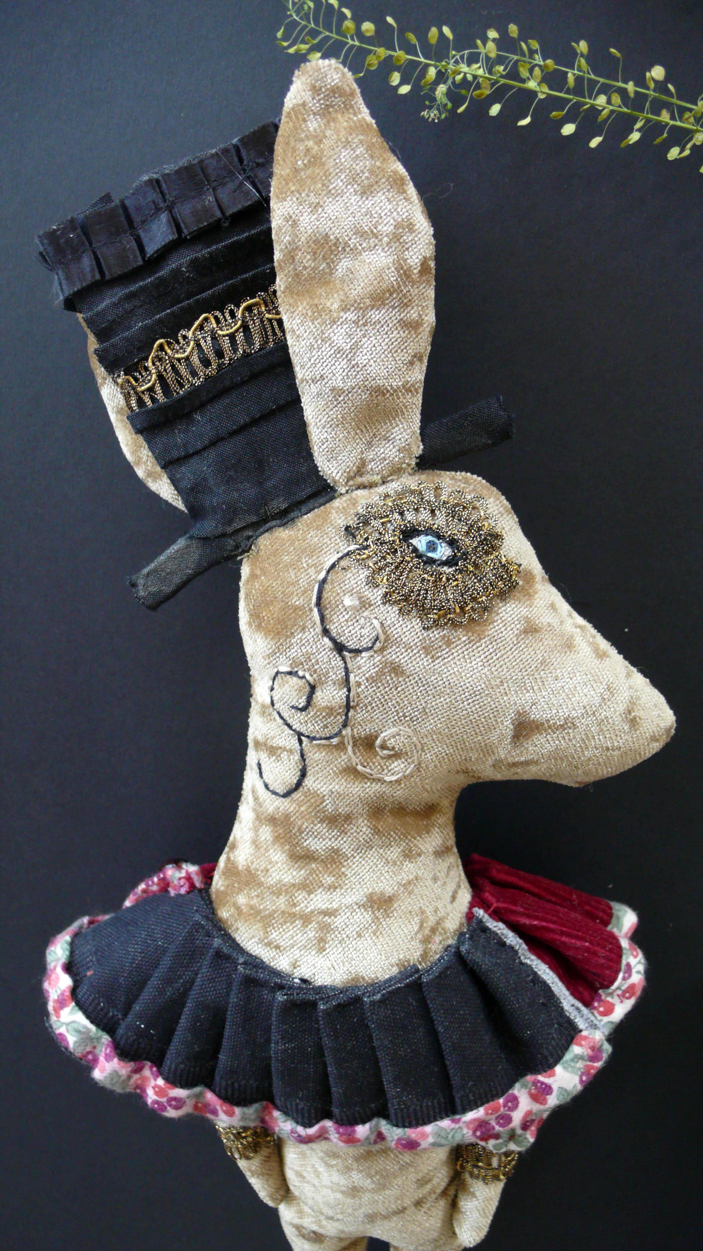 textile hare
