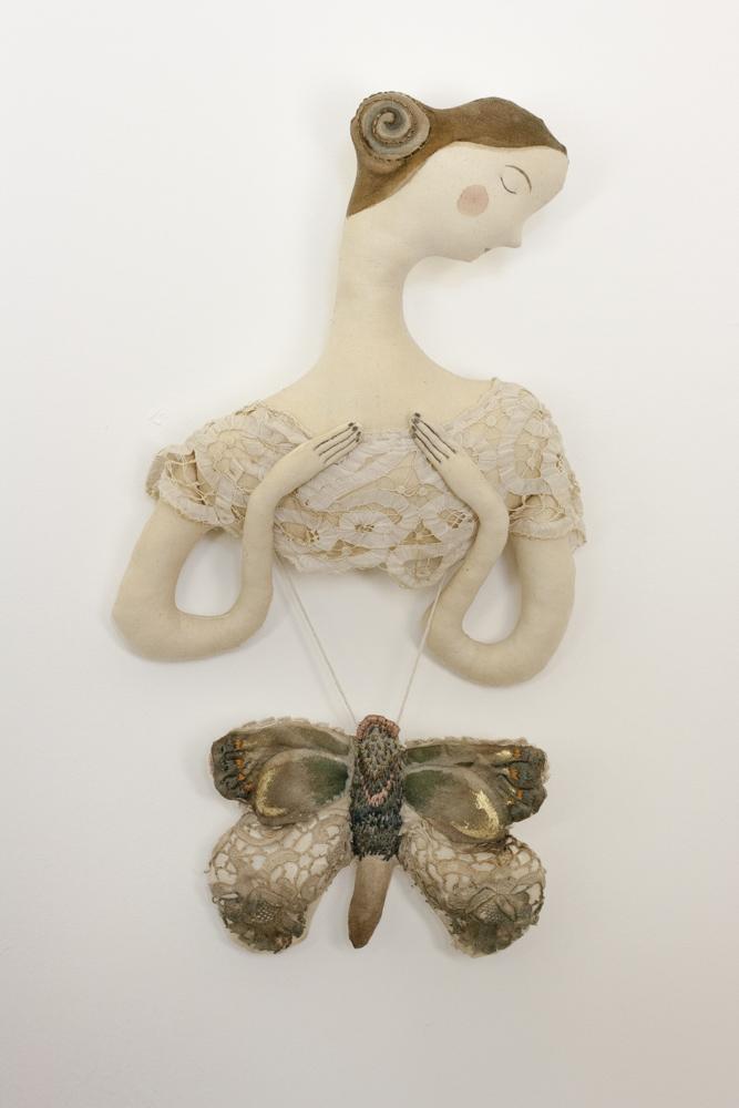 handmade moth