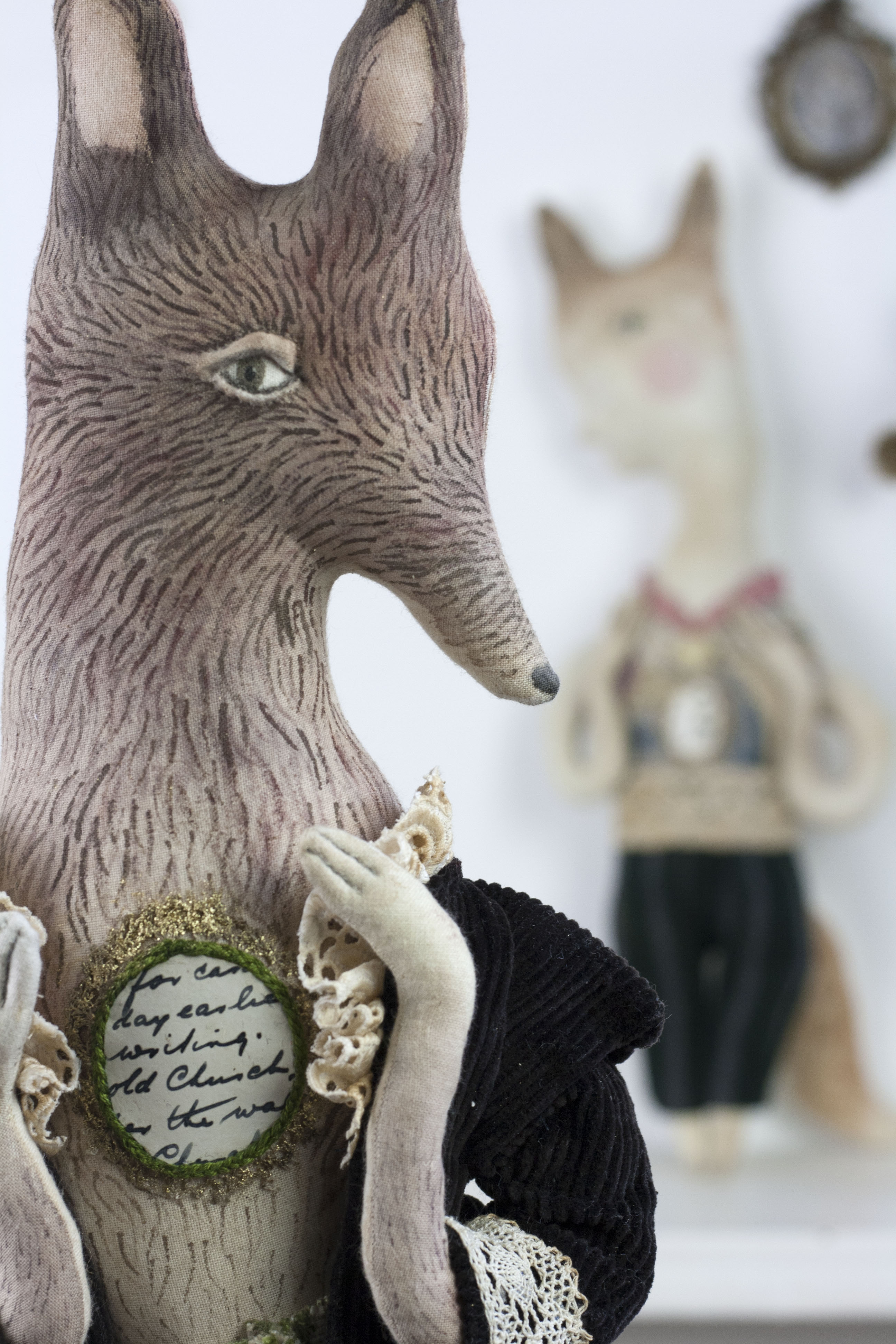 fox doll