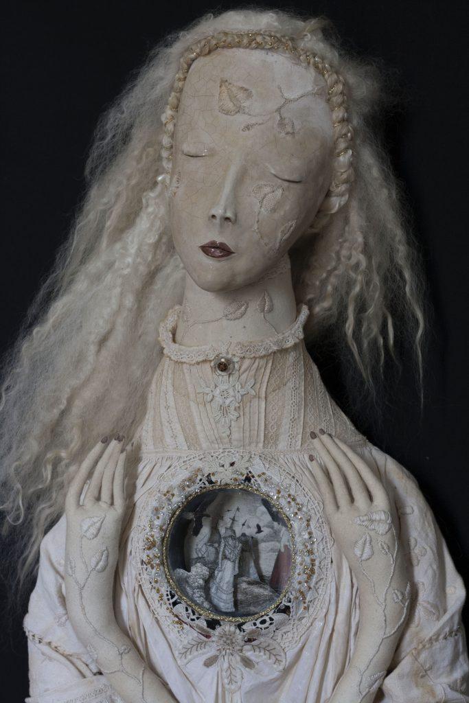 life size art doll