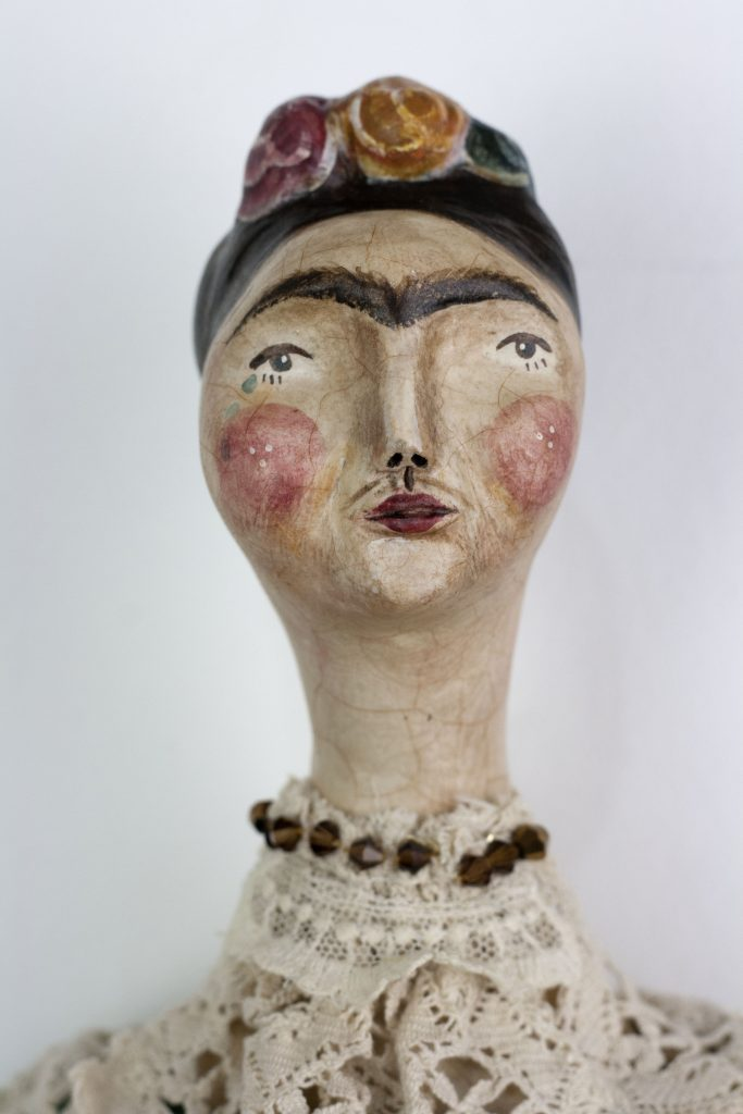 frida art doll