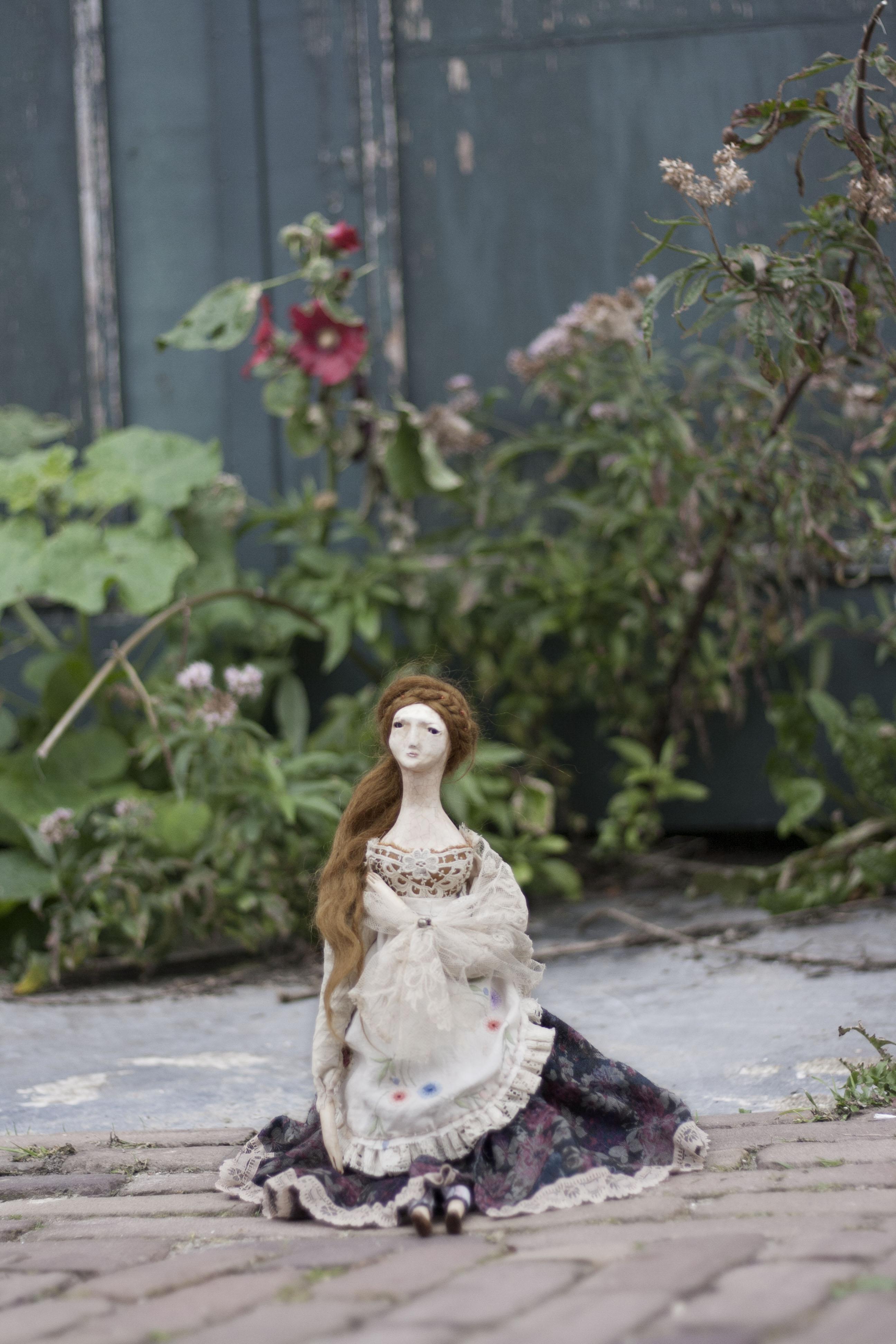 folk doll art