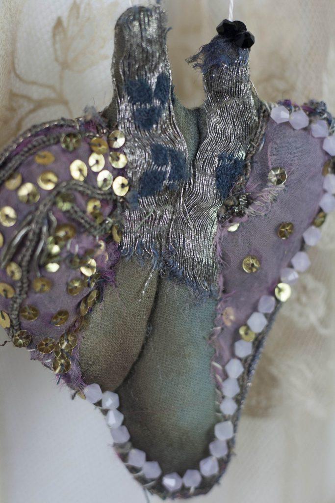 textile heart