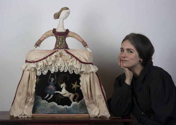 textile doll art