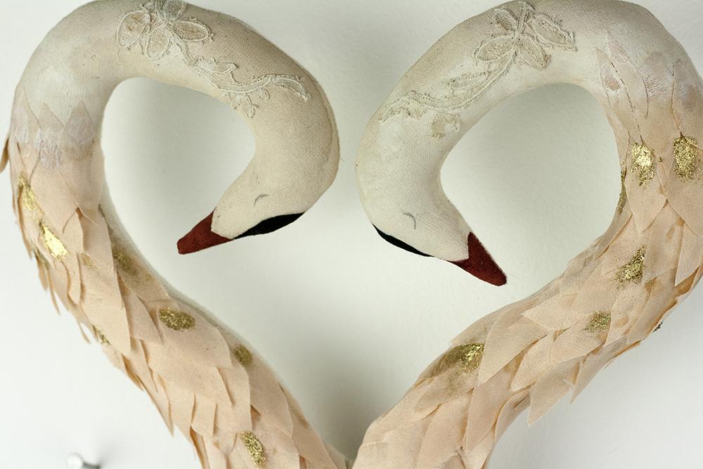 handmade swan