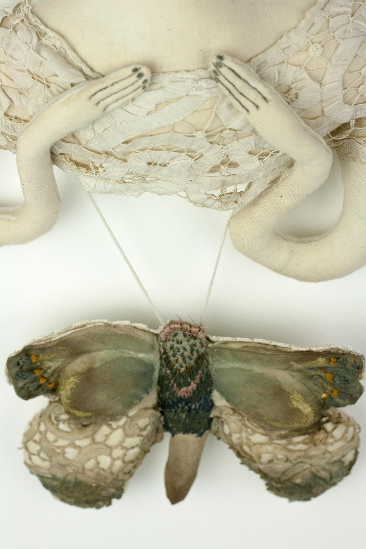 moth hanging