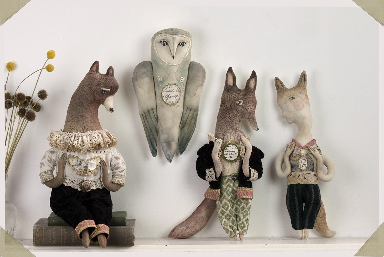 textile animals