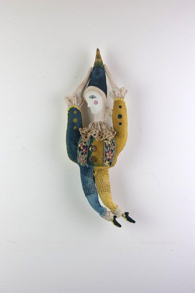 vintage circus doll
