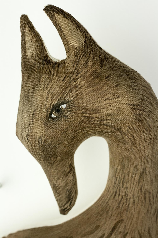 wolf doll