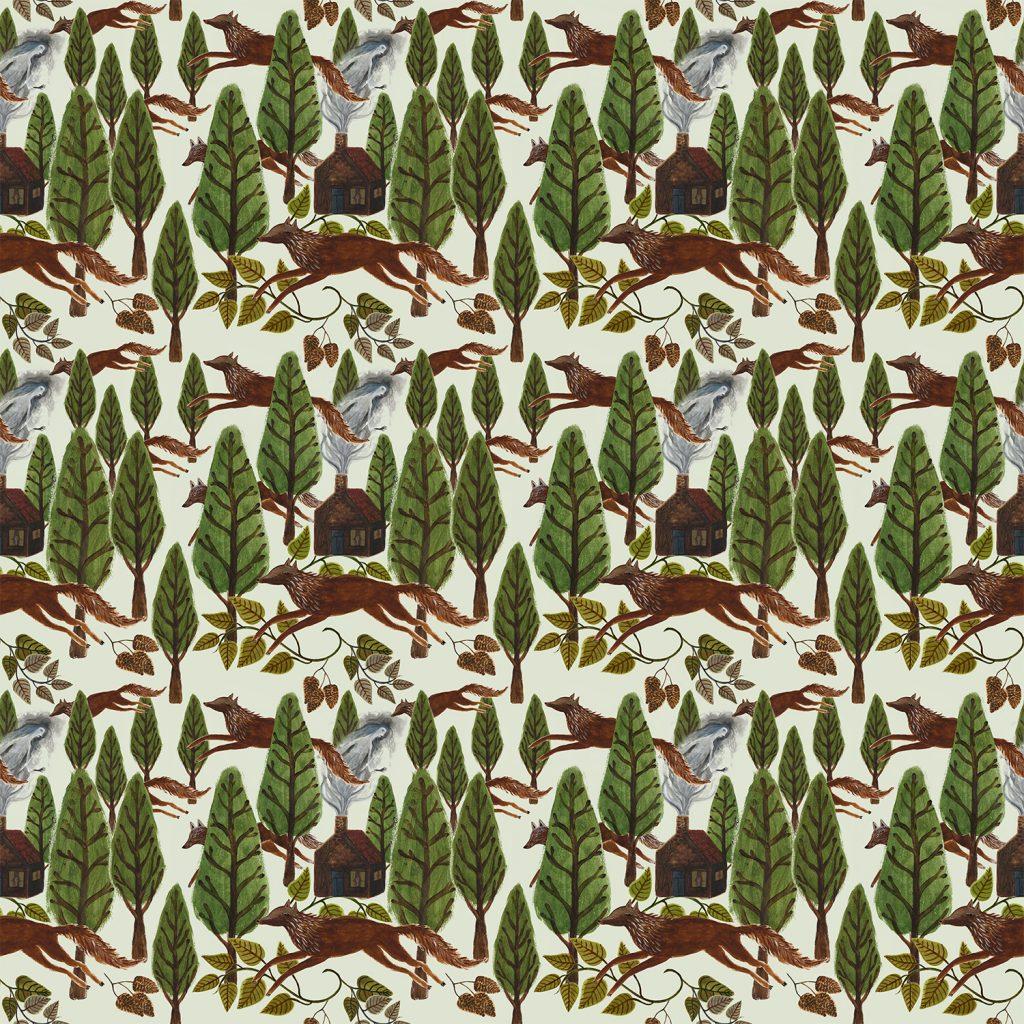 wallpaper woodlands