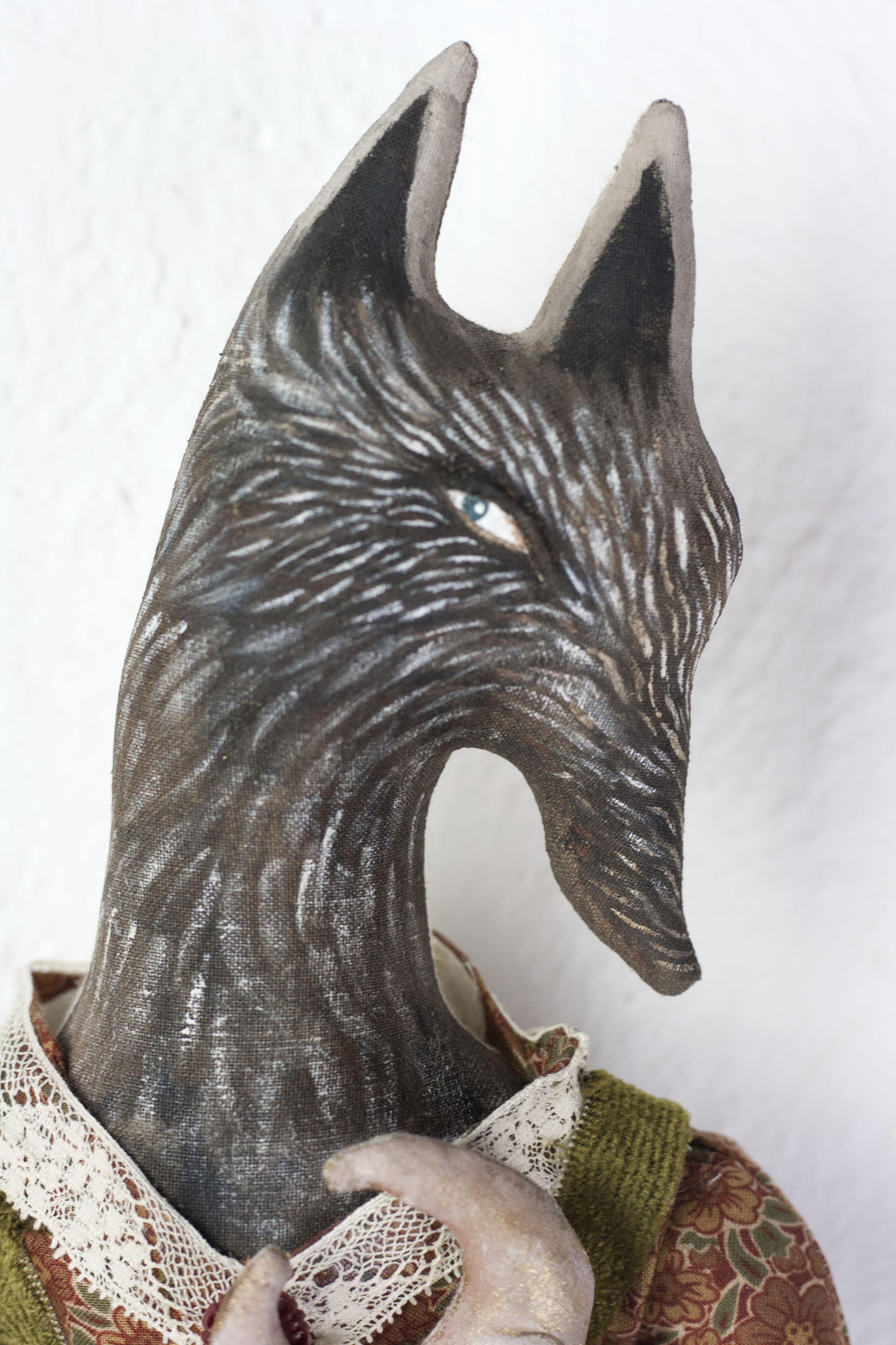 Black Wolf detail 3