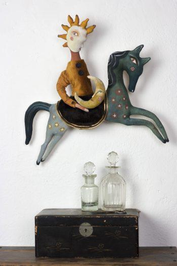 textile art sculpture