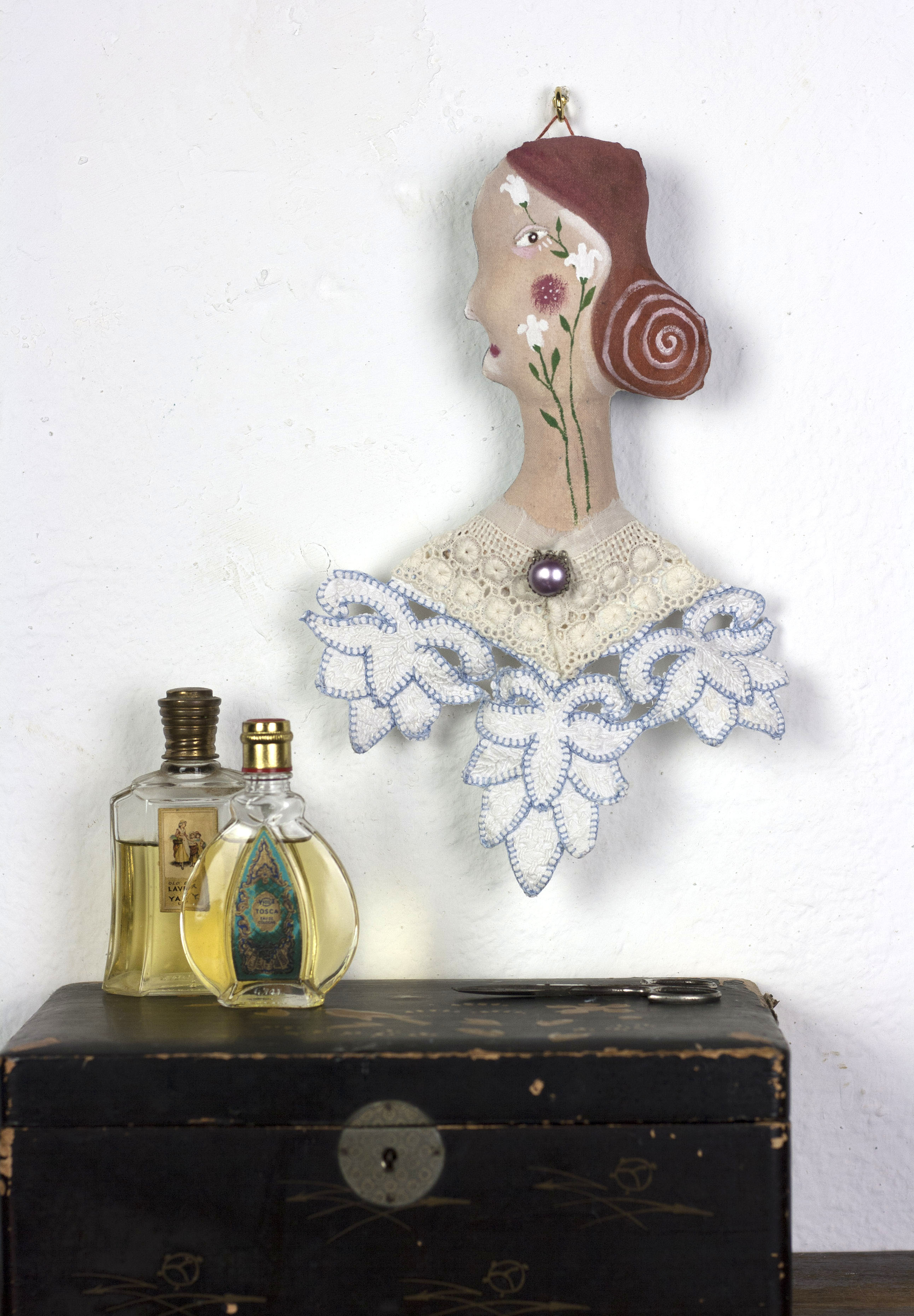 textile portrait