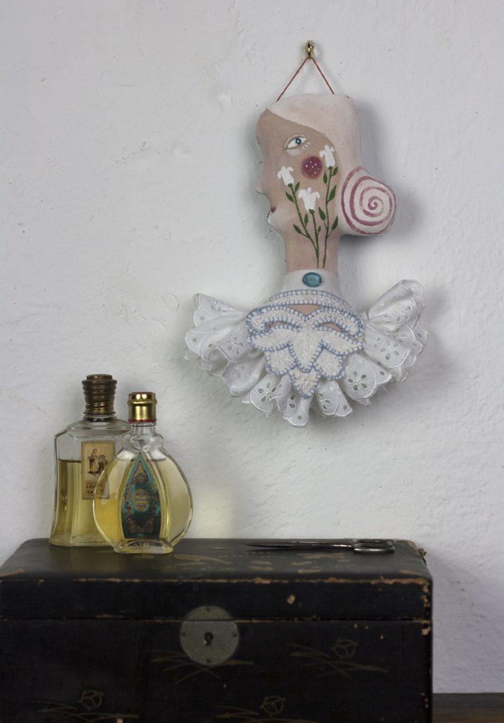 textile wall ornament