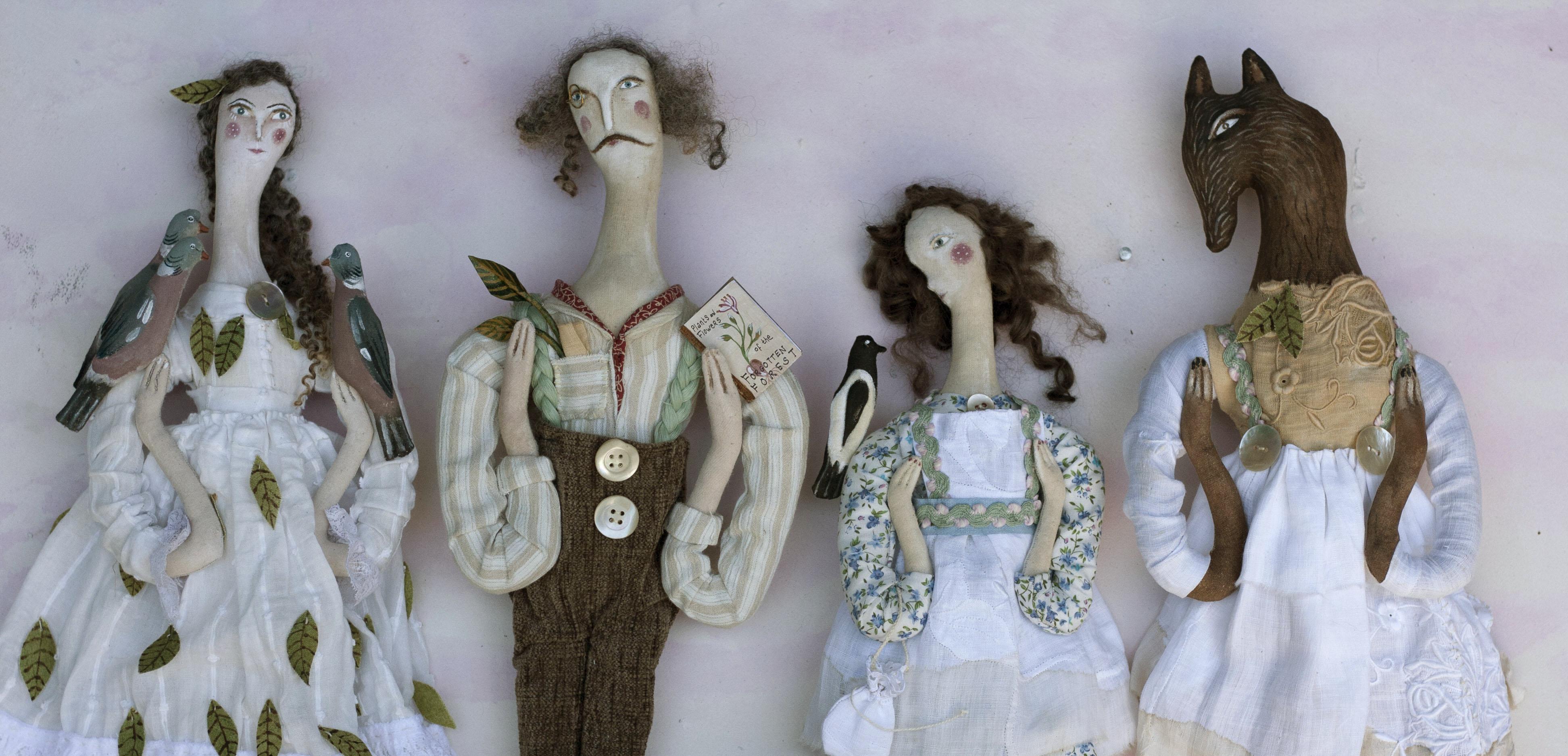 Fairy, Botanist, Violet, Wolf crop