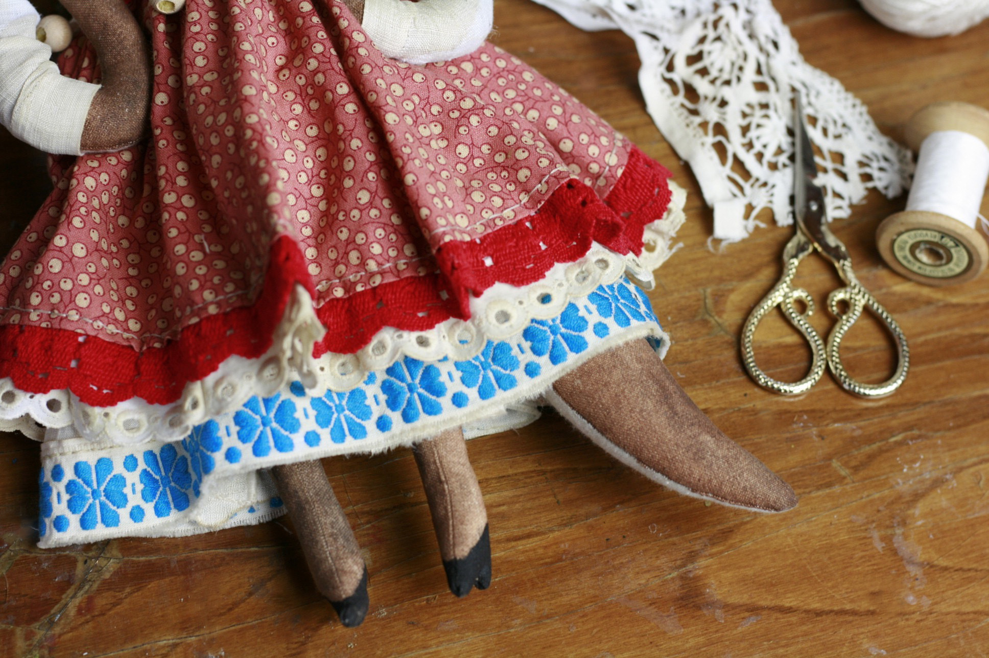 folklore doll costume
