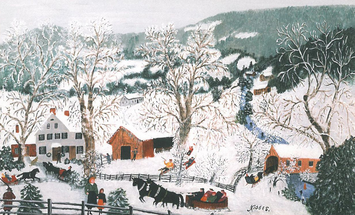Grandma Moses winter