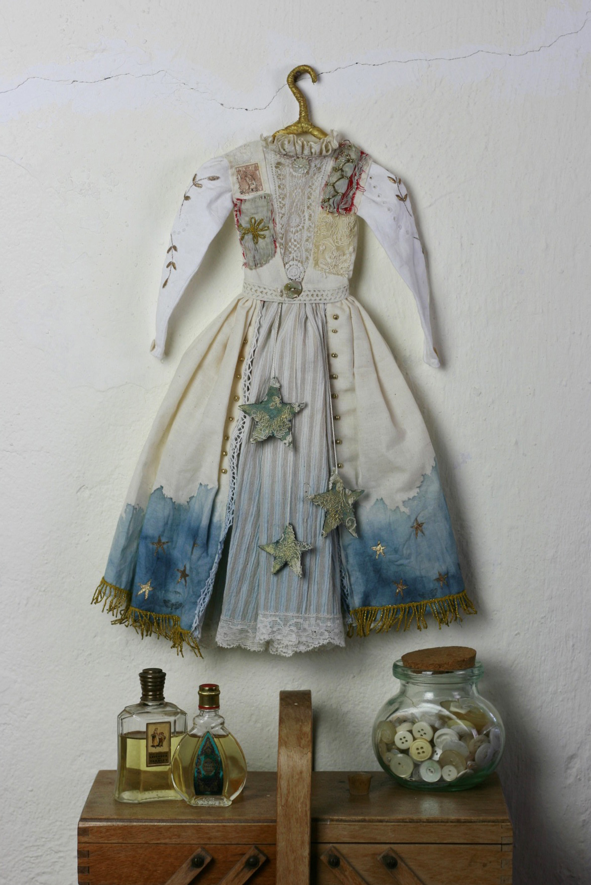 antique doll dress