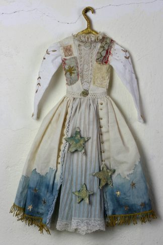 handmade doll dress