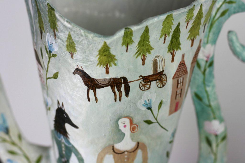 folklore paper mache