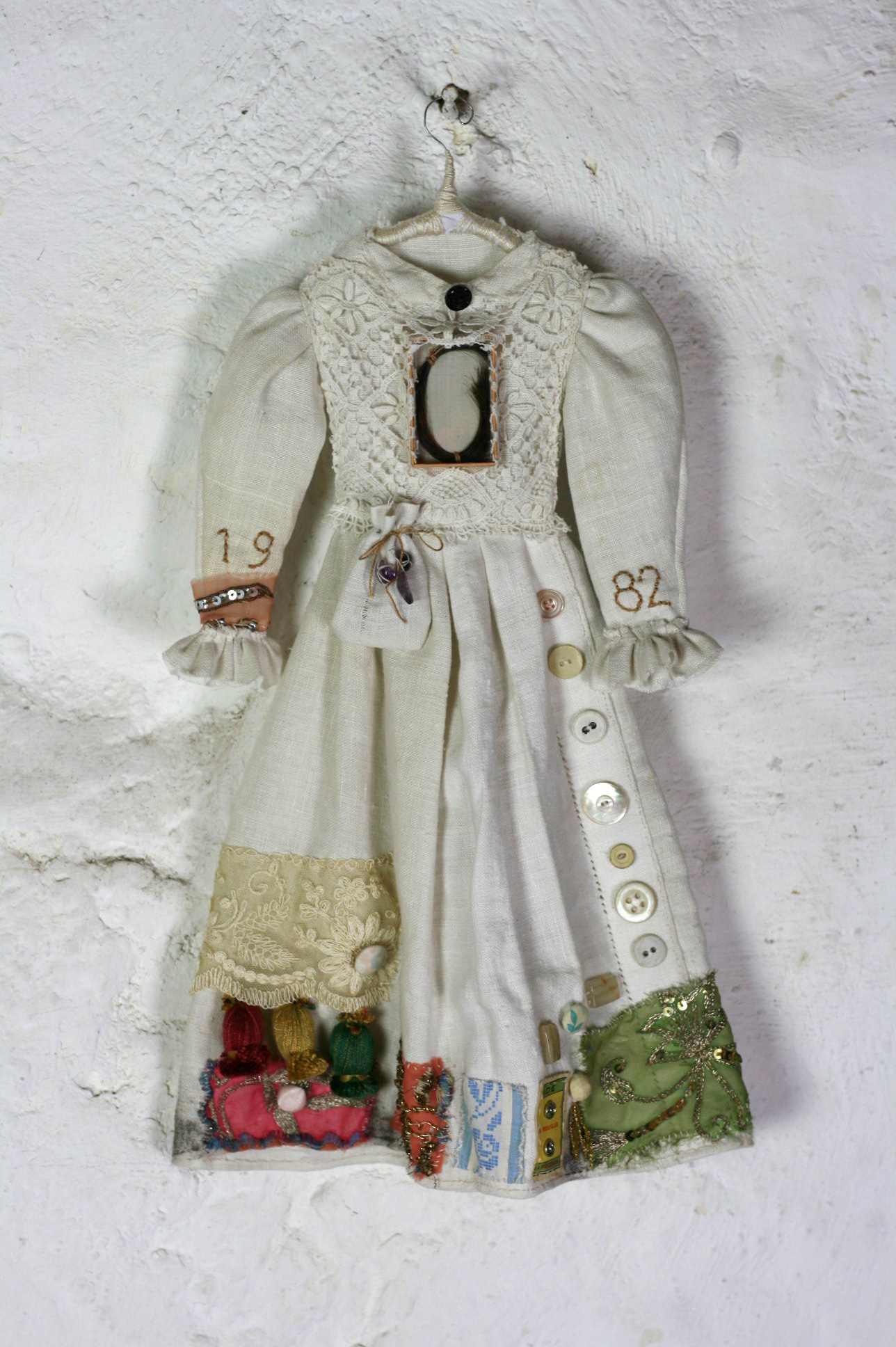 memorial art dress