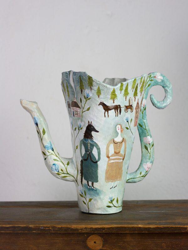 paper tea pot