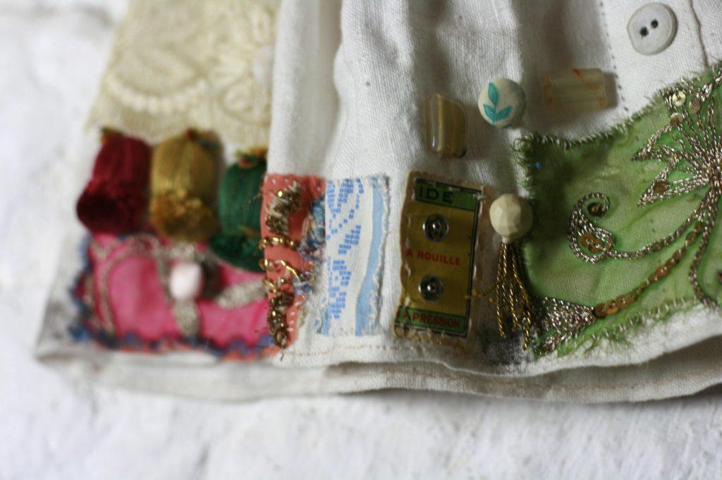 textile scrapbook