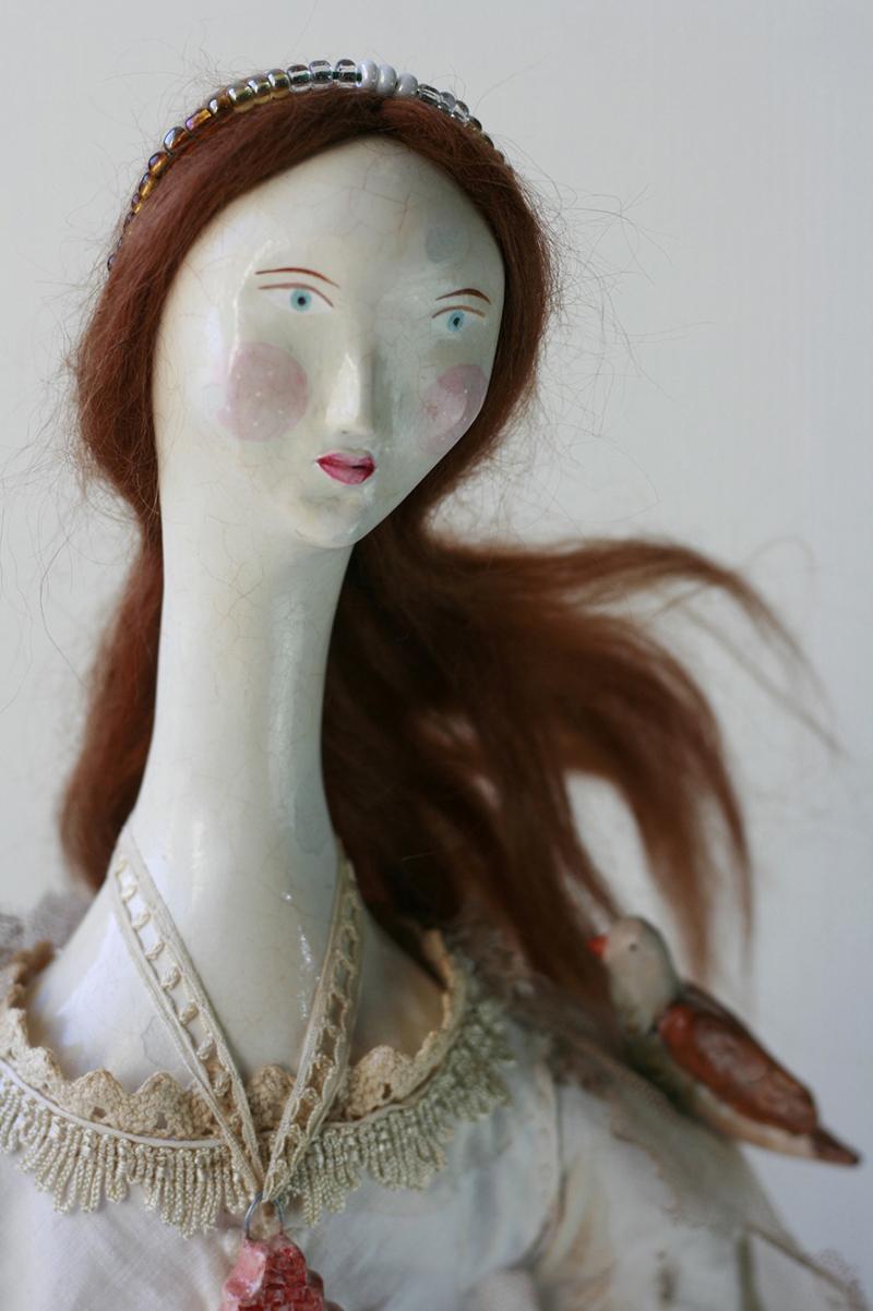 antique doll face