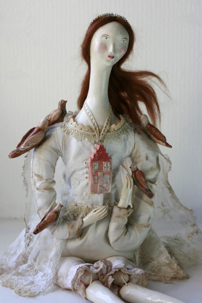 vintage style doll