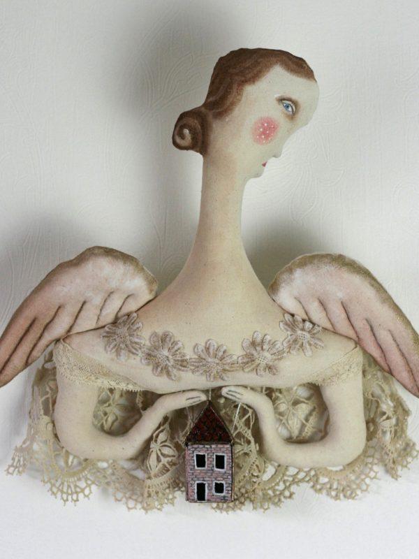 angel ornament art