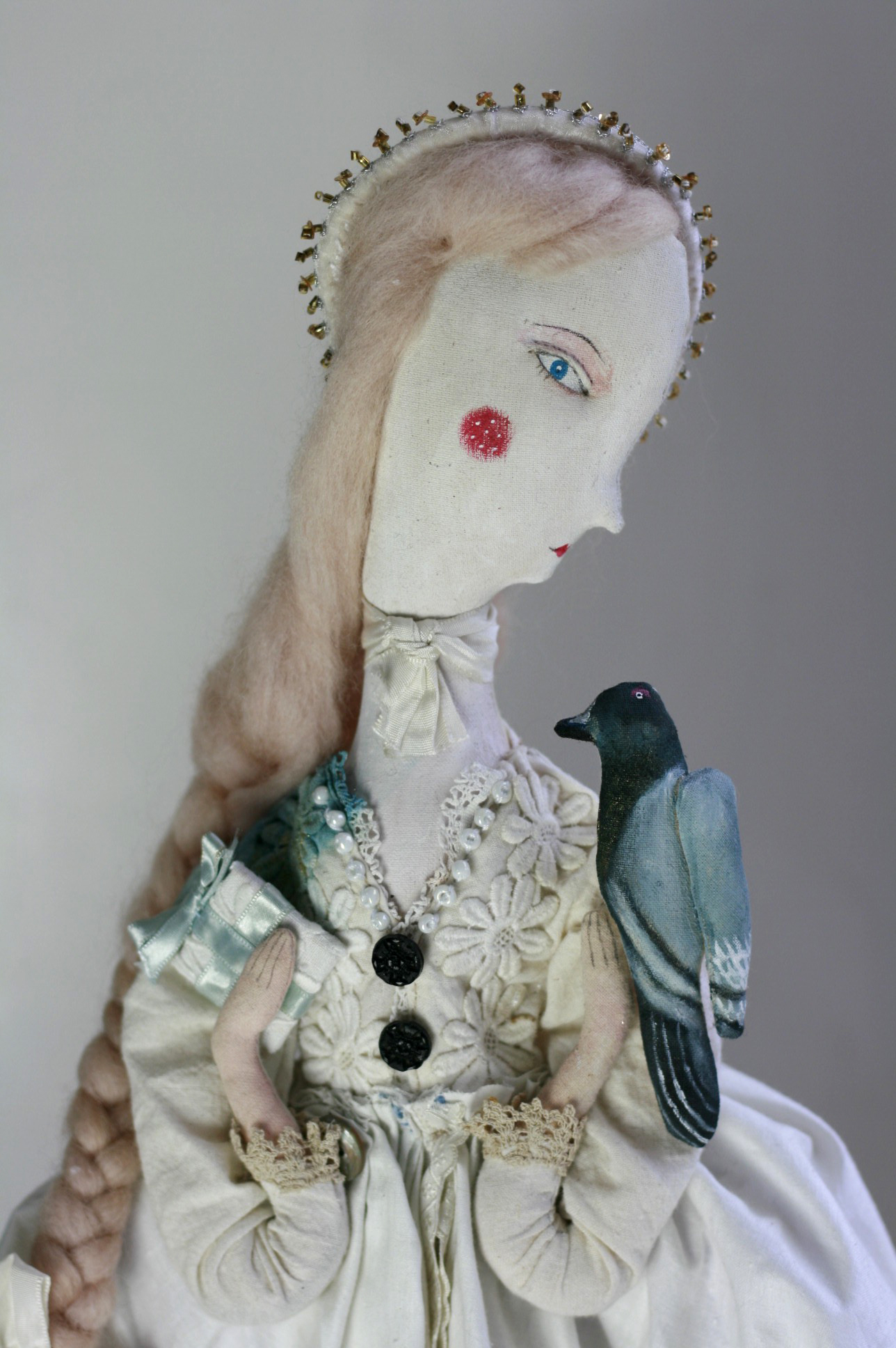 fairytale doll art