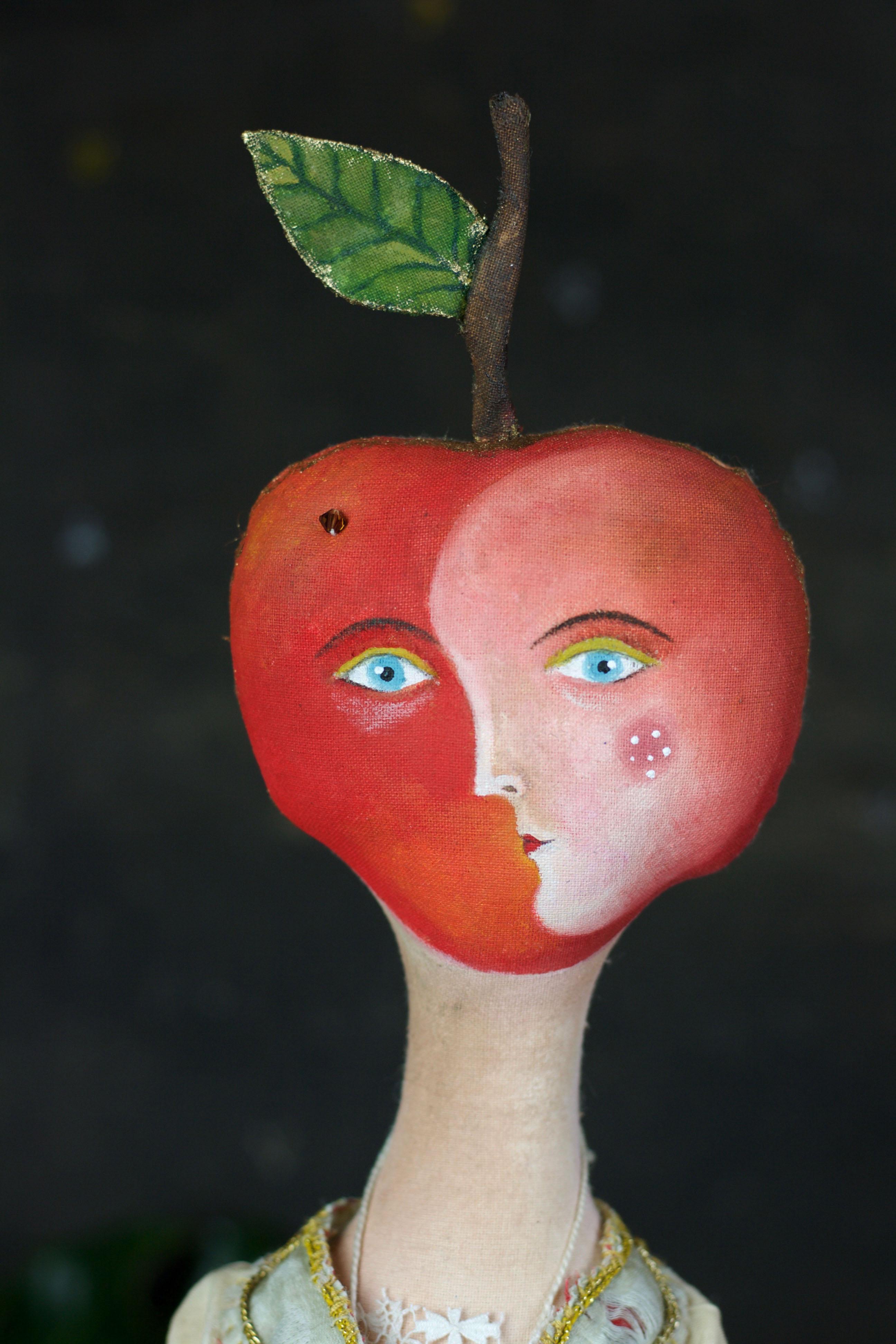 fruit face doll