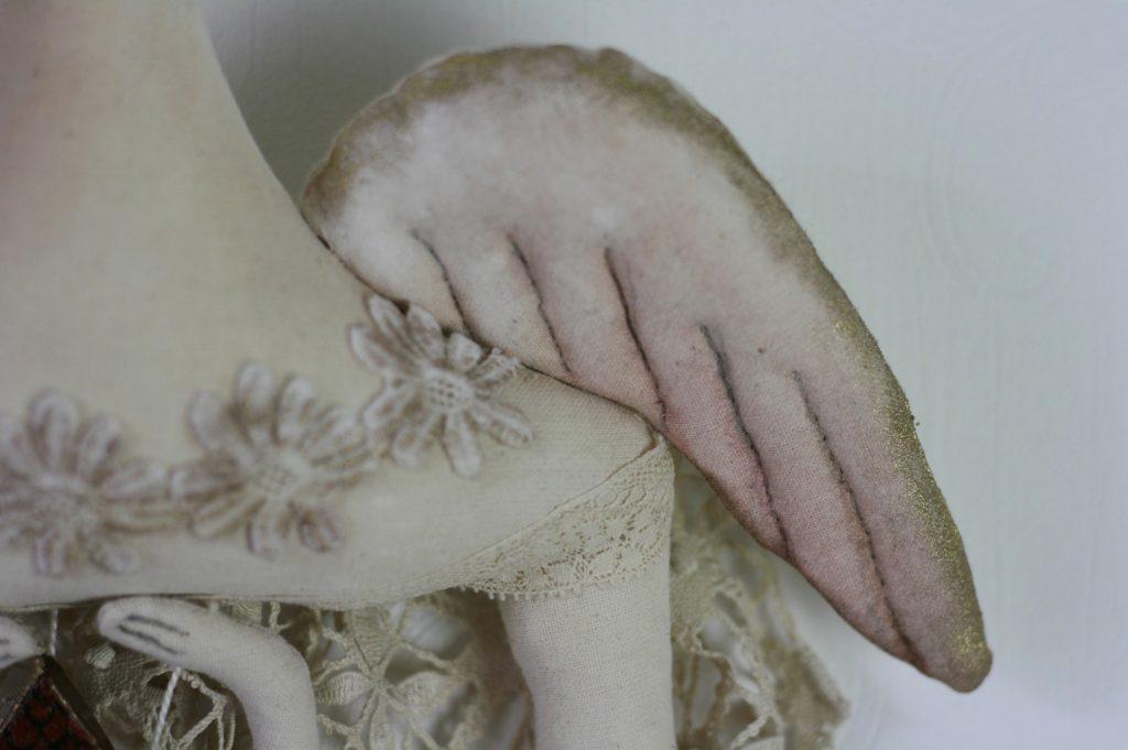 textile art angel