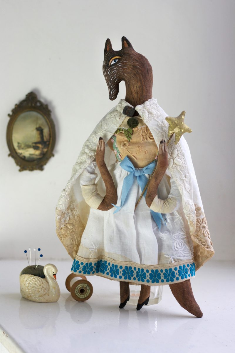 textile artdoll