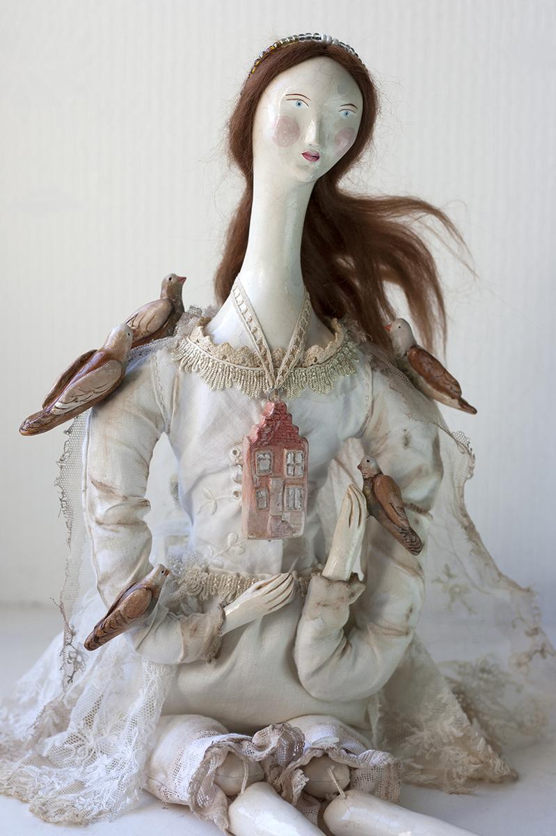 Pigeon Princess of Amsterdam