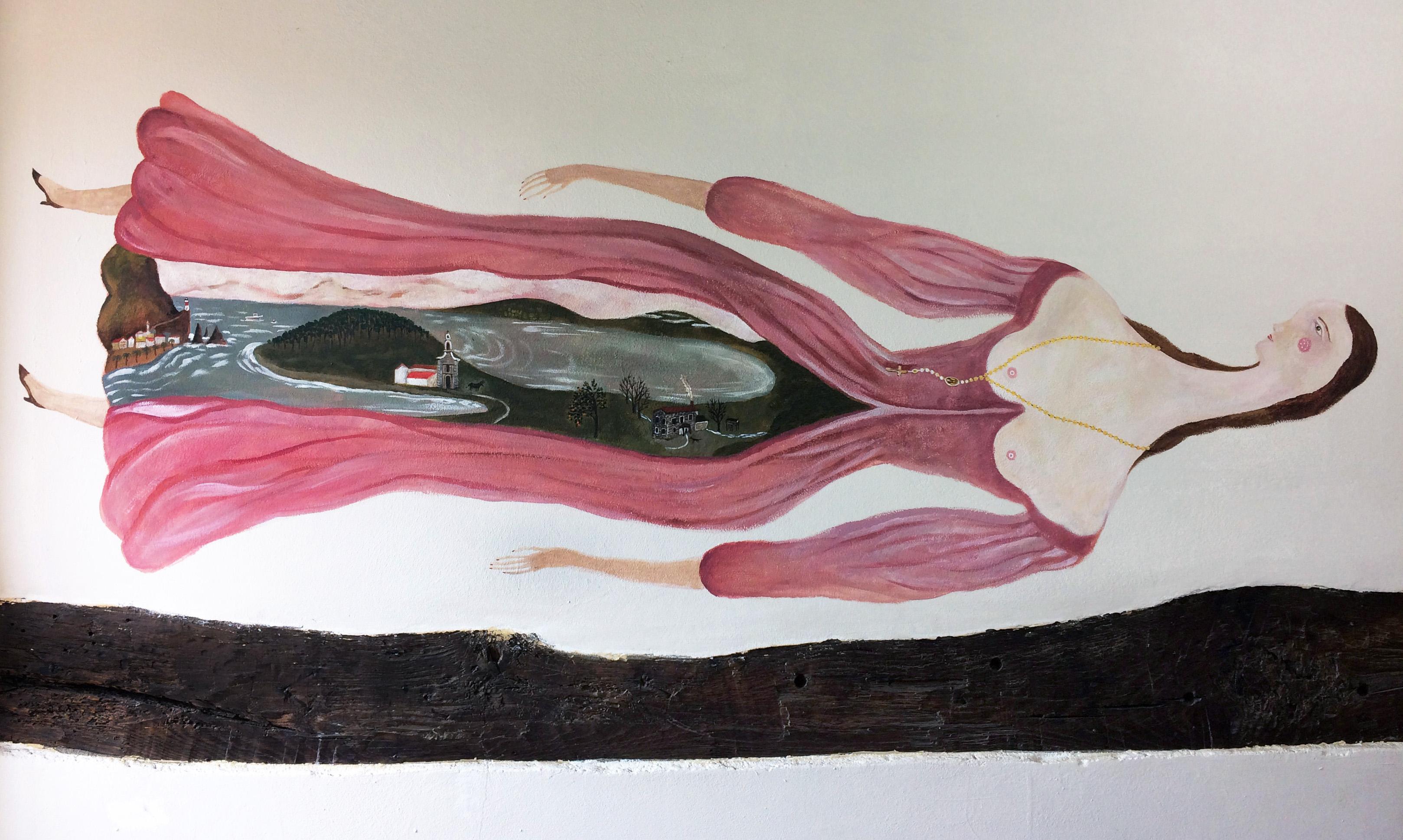 "Mural ""La Bruja"""
